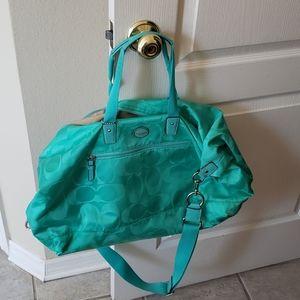 Coach travel set (2 bags)